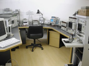 HP lab equipment