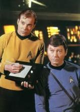 1960's Star Trek with tablet computer