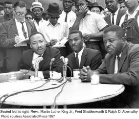 Civil rights leadership in 1957