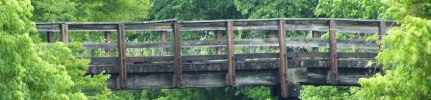 old worn bridge