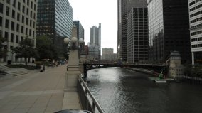 Union Station Chicago river beginning of 3rd leg in my travel. July 26th