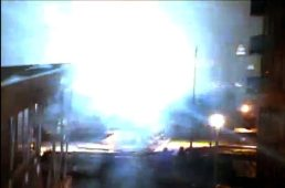 Con Ed power plant in NY - explosion during hurricane Sandy