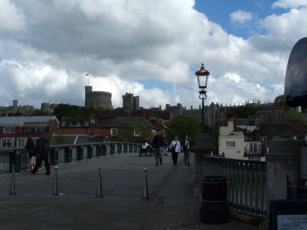 Windsor Eton bridge over Thames river