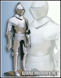 example; 16th century full suit armor