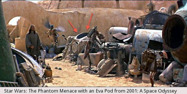 Phantom Menace Space Odyssey EVA pod