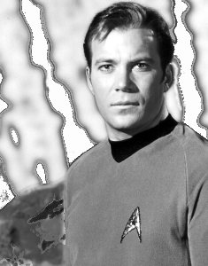 William Shatner as Captain Kirk - 60's TV