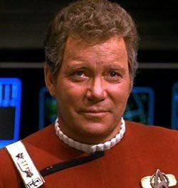 Captain Kirk - William Shatner 1980s