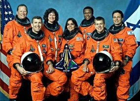 Columbia space shuttle crew