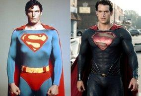 Superman then & Now