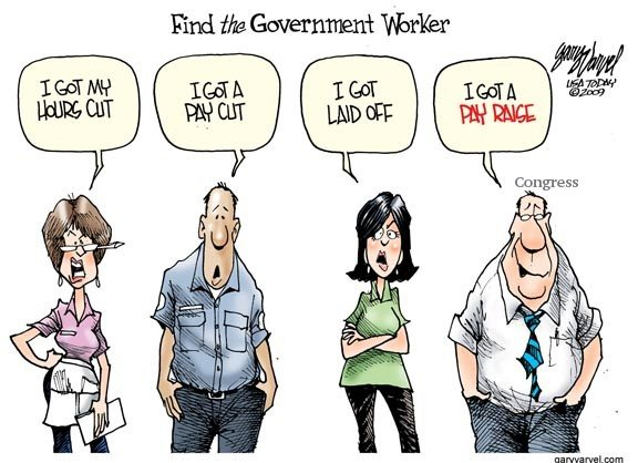 Government worker (legislative & executive pay raises)