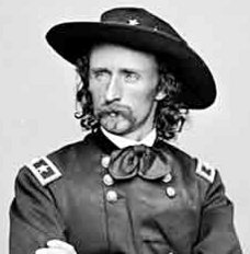George Armstrong Custer: (b) Dec 5, 1839 ~ (d) Jun 25, 1876