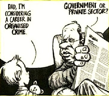life of crime - finance or politics?