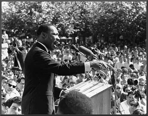 Martin Luther King Jr. speaking