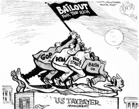 bail out taxpayer not wall street