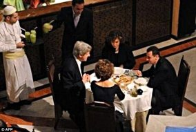 Heinz-Kerry Assad dinner party in 2009