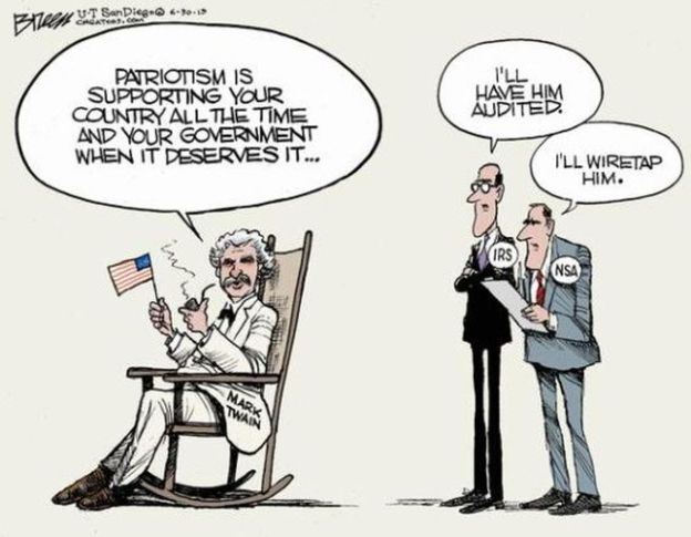 Mark Twain patriotism