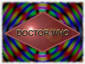 Dr Who modified logo