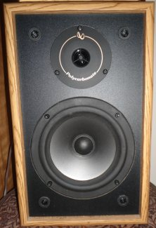 Infinity RS225 speaker with Polk woofer