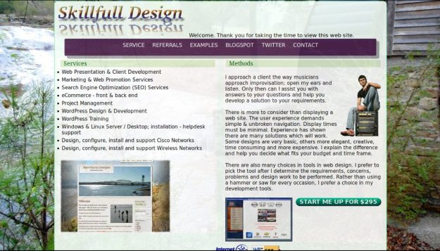 skillfulldesign home page