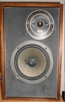 speaker with concave epi tweeter