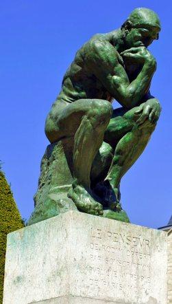 The Thinker (Le Penseur) by Auguste Rodin
