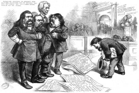 Thomas Nast asks pardon