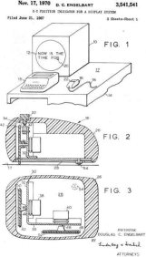 Mouse patent Englebart