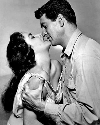 Elizabeth Taylor, Rock Hudson in Giant