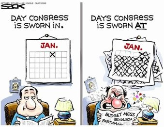 calendar days congress sworn in