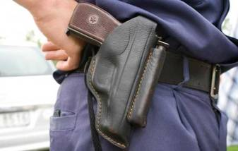 Increasing violence in schools prompting wearing of firearms by staff