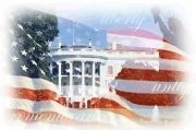 US flag Whitehouse