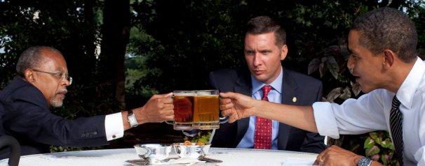 Beer summit brings together arrestor & arrestee