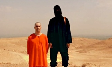 picture from ISIS video showing the execution of James Foley