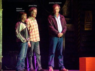 Top Gear BBC presenters