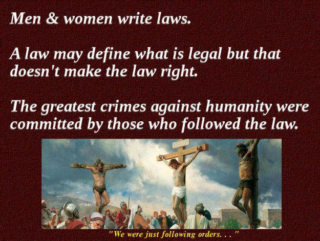 When are laws unjust?