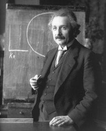 Einstein in 1921 by F. Schmutzer