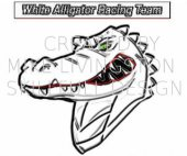 WAR gator mascot sample